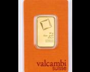 20 gram goudbaar van Valcambi. LBMA gecertificeerd.