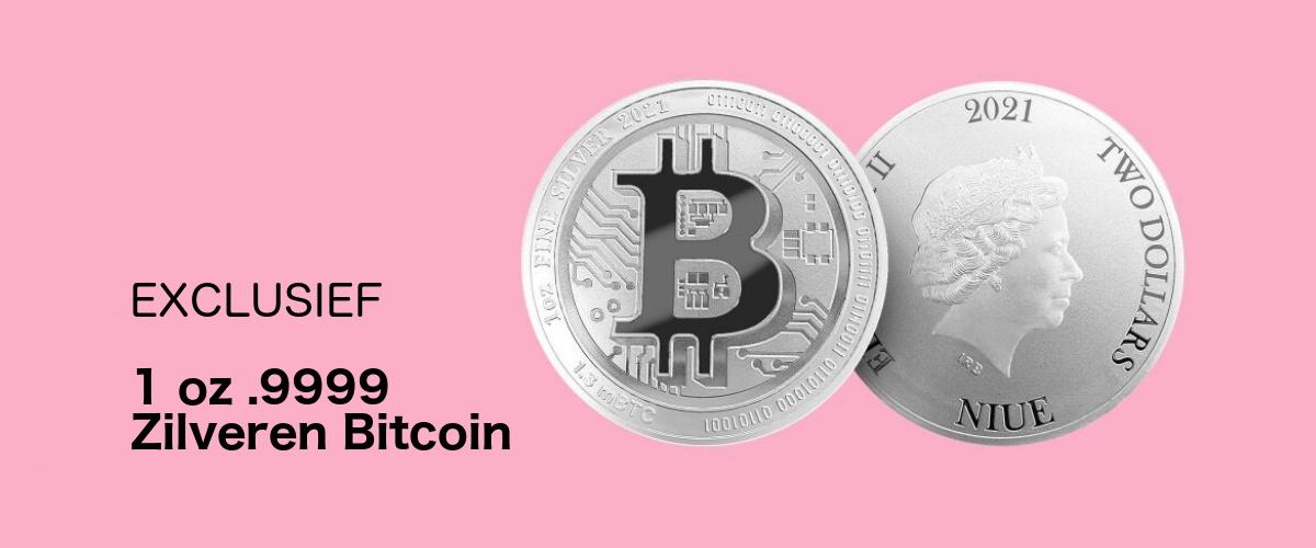 Nieuw: 1 oz zilveren 'Bitcoin'