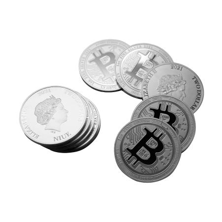 Serie zilveren Bitcoin 2021 bij MuntenBaren.nl