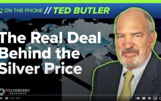 Ted Butler over opwaartse en neerwaartse manipulatie van de zilverprijs