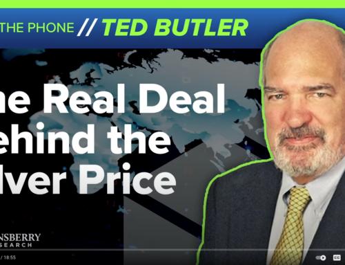 Ted Butler over neerwaartse en opwaartse zilverprijs manipulatie